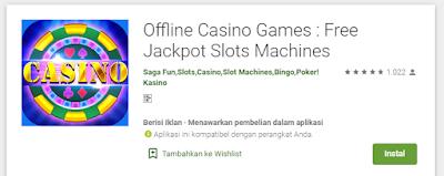 Game Casino Offline Android Terbaik Paling Seru