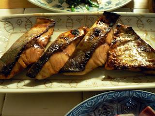 酒の肴 焼き魚 イナダの照り焼き