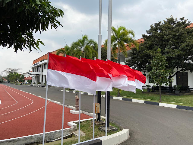 Antusiasme dan Semarak Sambut 17 Agustus di Seskoad Bandung