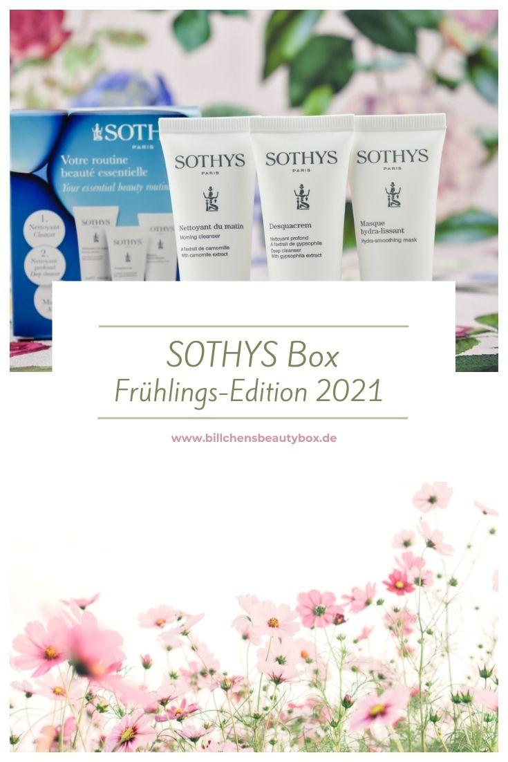 SOTHYS Box Frühlings-Edition 2021 - Inhalt Produkte und Informationen