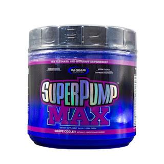 Super Pump Max 480g Pre-Workout Sabor UVA- Gaspari Nutrition
