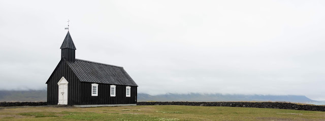 Picture of a lonely church