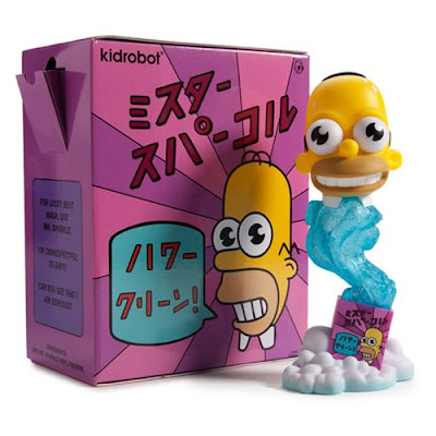 The Simpsons Mr. Sparkles Vinyl Figure by Kidrobot