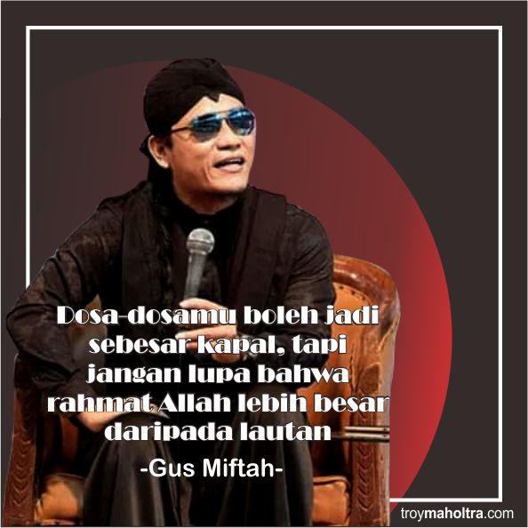 Kata Kata Lucu Gus Miftah