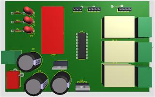 carte électronique 3D