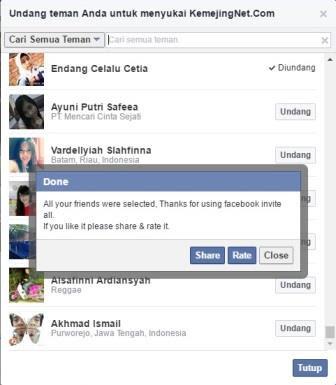 Cara Cepat Undang Teman Sukai Halaman Facebook