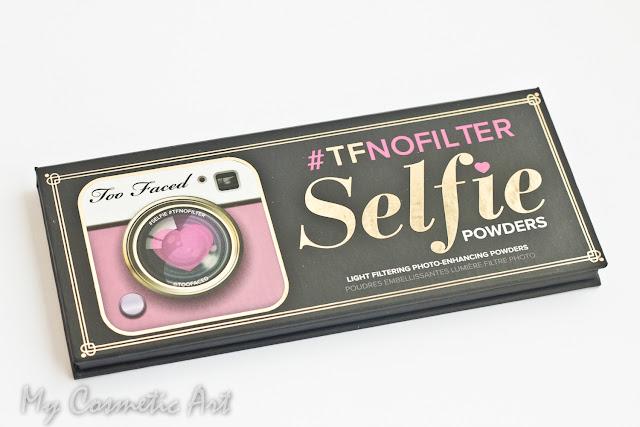 Selfie Powders #TFNOFILTERS: una curiosa paleta de Too Faced
