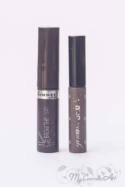 Gimme Brow de Benefit vs. Brow this Way de Rimmel. Geles de Cejas
