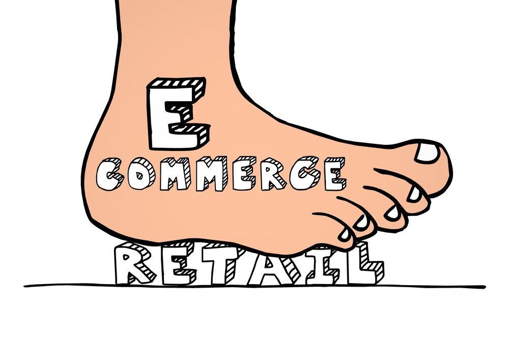 Online e-commerce vs Retail