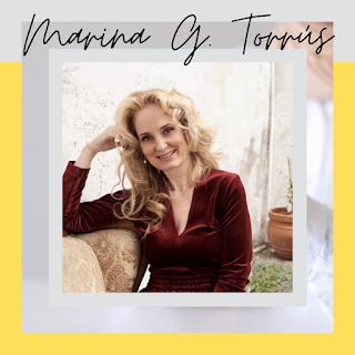 entrevista a la escritora marina g torrus por el libro Azul Venezia