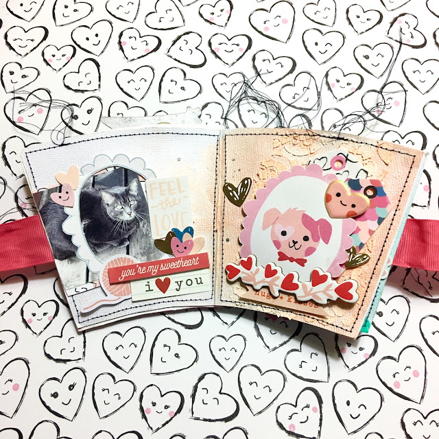 I Love My Cats Mini Album by Angela Tombari