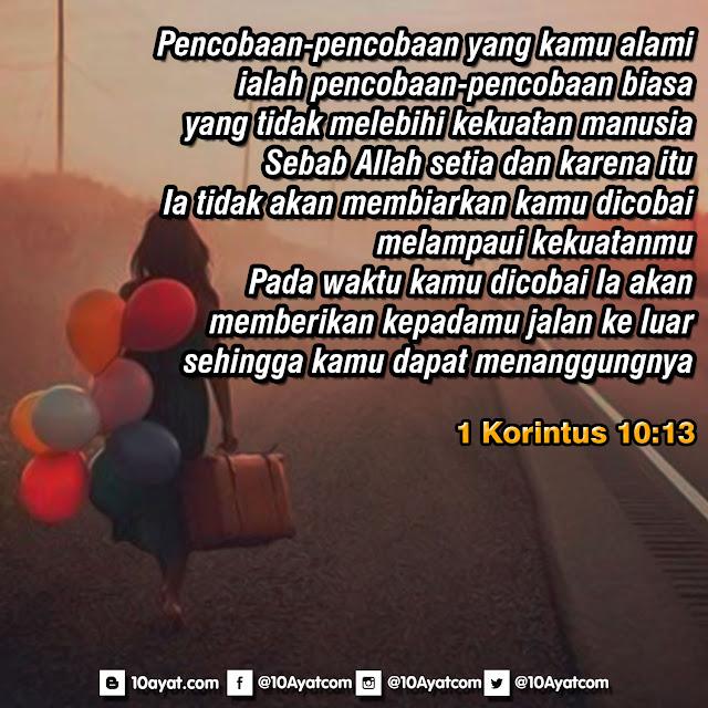 1 Korintus 10:13