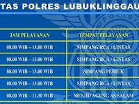 Jadwal SIM Keliling Polres Lubuklinggau Agustus 2019