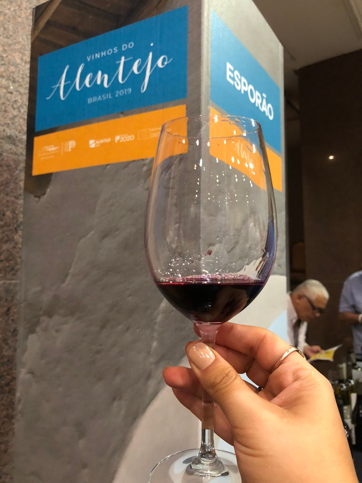 Vinhos do Alentejo em evento de degustação em Brasília