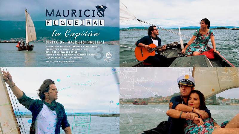Mauricio Figueiral - ¨Tu Capitán¨ - Videoclip - Director: Mauricio Figueiral. Portal Del Vídeo Clip Cubano. Música cubana. CUBA.