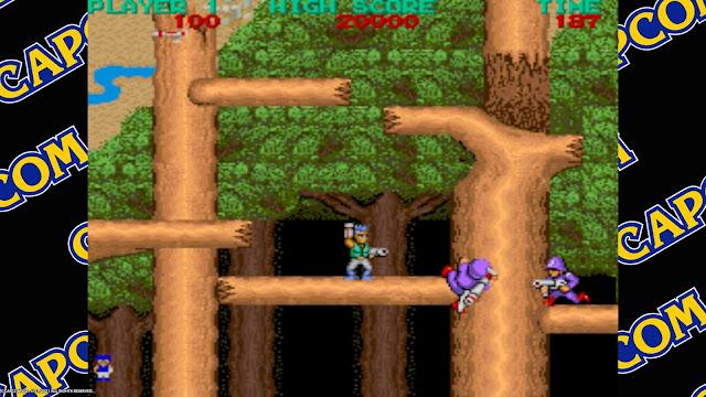 Capcom Arcade Stadium - Bionic Commando