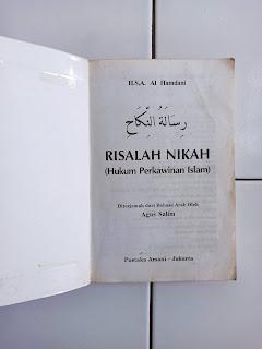 1 Risalah Nikah (Hukum Perkawinan Islam)