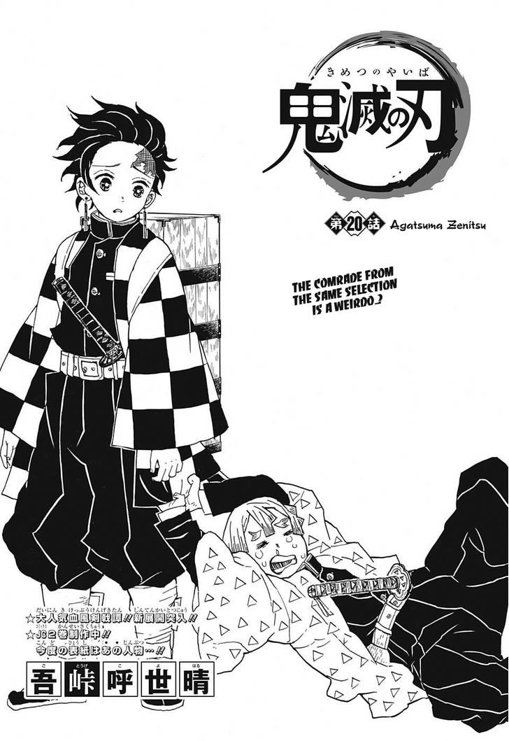 DEMON SLAYER: KIMETSU NO YAIBA CHAPTER 20 20