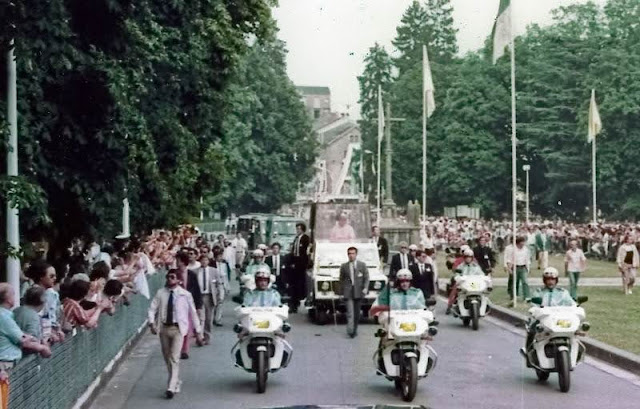 BFG 1300 Motorcycles Escorting Pope John Paul II in France