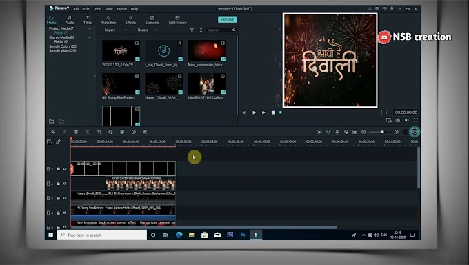 Filmora 9 whatsapp status video editing    how to create whatsapp status in filmora 9