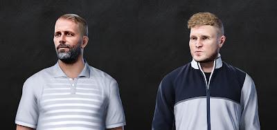 PES 2021 Faces Eddie Howe & Marco Rose