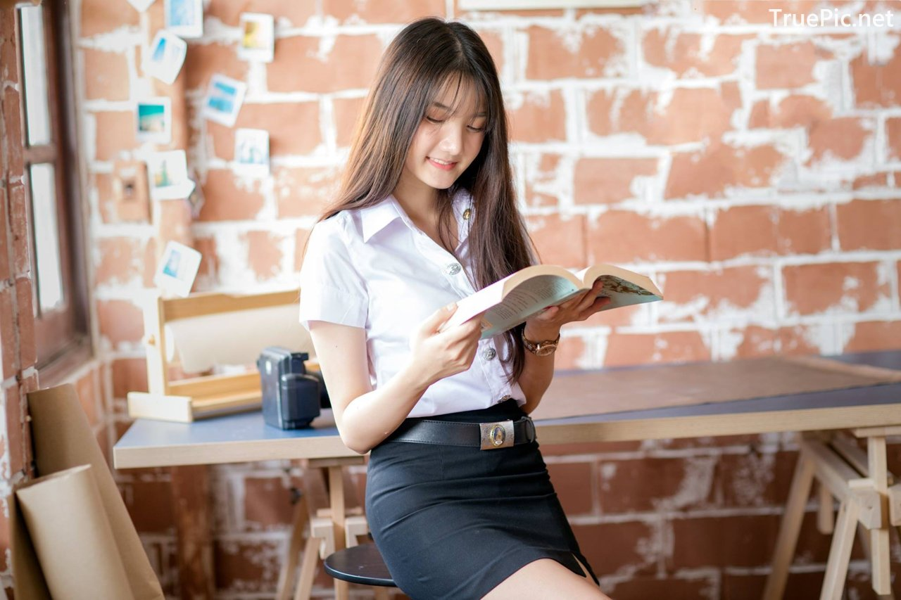 Image-Thailand-Cute-Model-Creammy-Chanama-Concept-Innocent-Student-Girl-TruePic.net- Picture-2