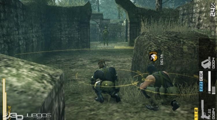 Metal Gear Solid Peace Walke PSP