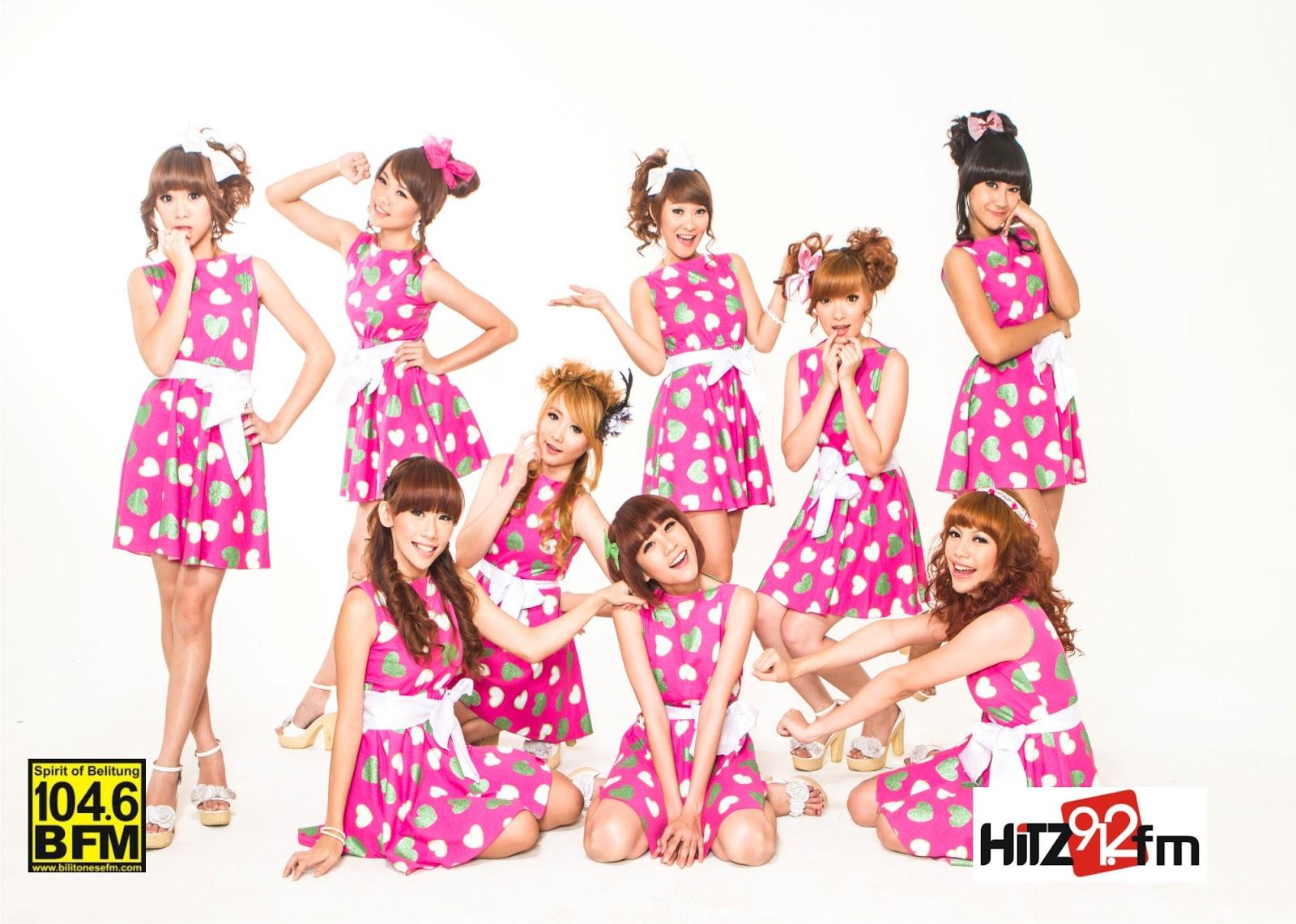 Foto Dan Wallpaper Cherrybelle Girlband Indonesia BloKuFo