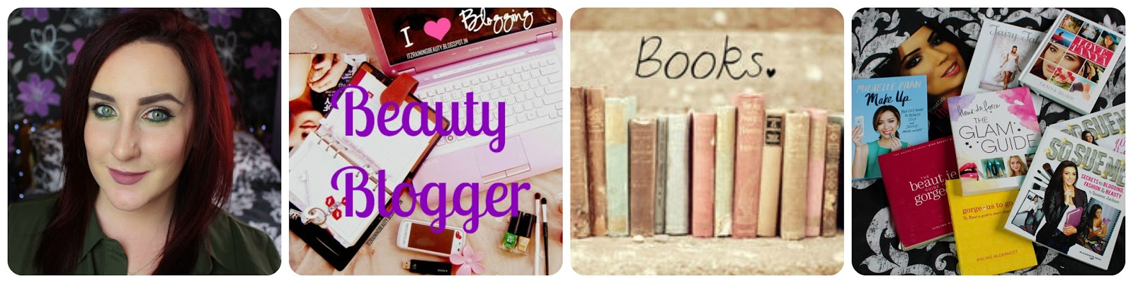 My Beauty Blogger Book Collection