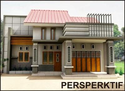 bentuk rumah yang memiliki toko 3