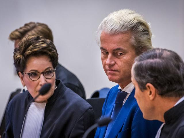 """محكمة هولندية تؤيد إدانة الزعيم المتطرف """"فيلدرز"""" بتهمة توجيه إهانة جماعية للمغاربة"""