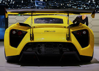 Zenvo TS1 Super Car Rear Picture