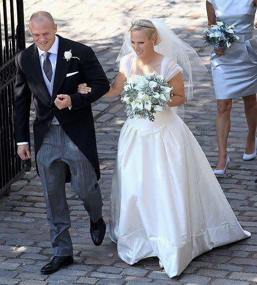 The Queen's Granddaughter, Zara Phillips, Marries Her Rugby Player