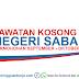 Senarai Jawatan Kosong Negeri Sabah Permohonan September - Oktober 2019