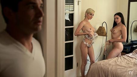 [NubileFilms] Skye Blue, Whitney Wright (Our New Roommate / 11.08.2020)