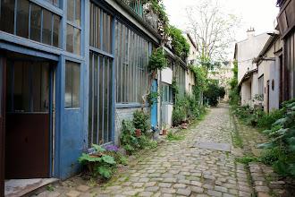 Paris : Cité Durmar, survivance du vieux Paris en péril - 154 rue Oberkampf - XIème