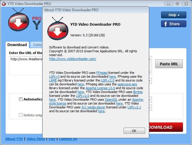 youtube downloader (ytd) pro v5.3.0.1 crack