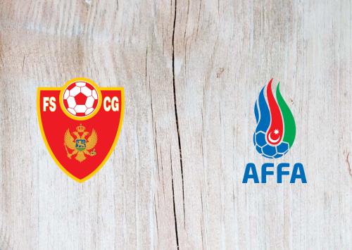 Montenegro vs Azerbaijan -Highlights 10 October 2020