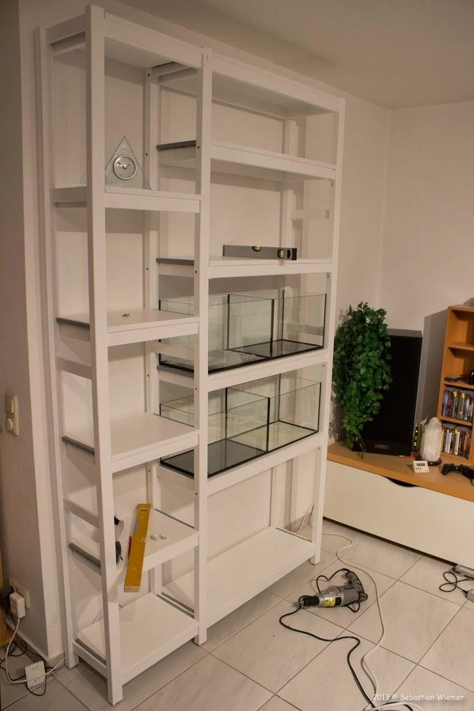 ikea ivar regal zusammenbauen. Black Bedroom Furniture Sets. Home Design Ideas