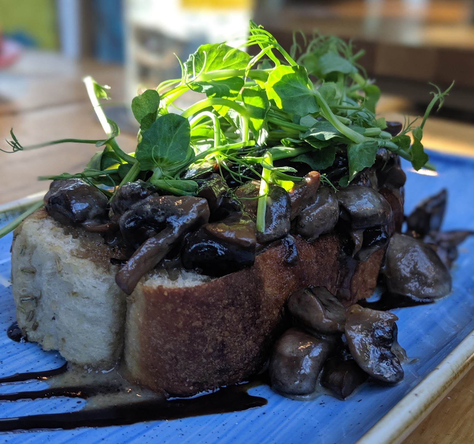 A Weekend Exploring Seaham Beach & Durham's Heritage Coast - Seaton Lane Inn mushrooms starter