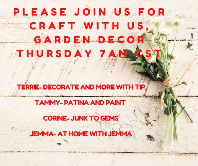 Craft With Us Garden Decor