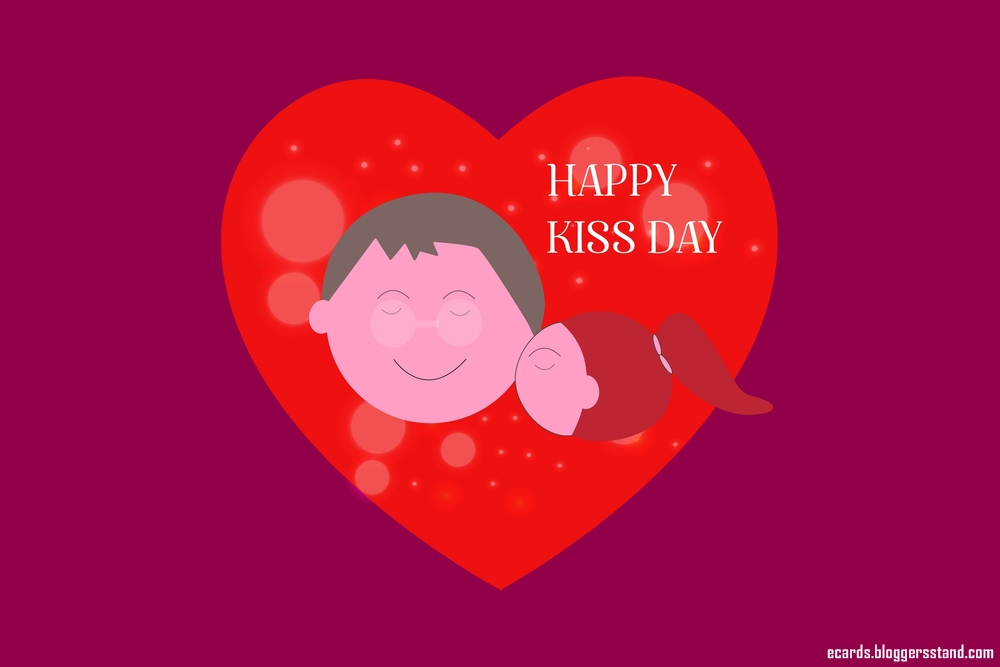 Happy Kiss Day 2021, Valentines day week list, Couple kissing pics download