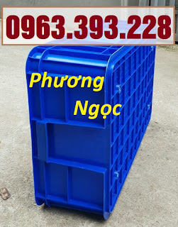Thùng nhựa đựng linh kiện cao 19, hộp đựng nông sản, sóng nhựa bít HS003 128d32e068138a4dd302