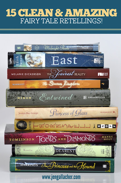 Clean and amazing book lists from Jen Gallacher at www.jengallacher.com. #booklist #books #booklover #reader