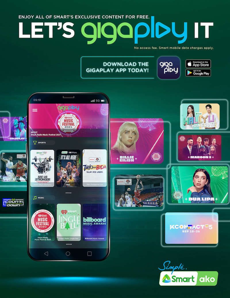 Smart subscribers can now watch exclusive, FREE content on GigaPlay app
