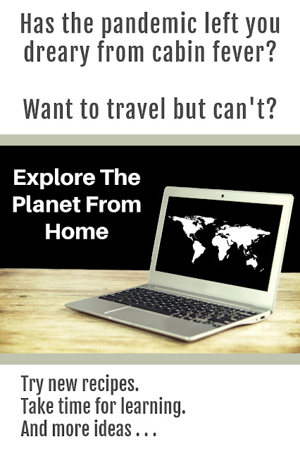 Explore The Planet From Home