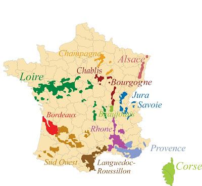 carte france vignoble vignes blog vins vin beaux-vins