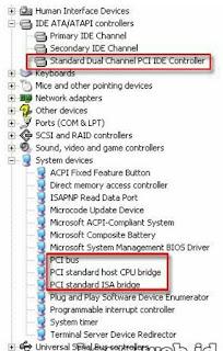 Cara Memindahkan harddisk ke komputer lain yang berbeda chipsetnya
