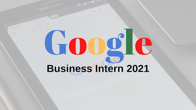 Google Business Intern 2021