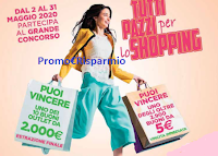 Logo Saponi e Profumi ''Tutti pazzi per lo Shopping'' : vinci migliaia di buoni spesa fino a 2000 euro